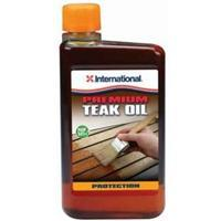 International Teak Oil, ½ ltr.