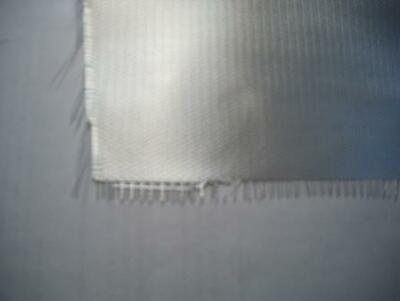 Glasvæv 200 gr. Twill. Transparent 120 cm bred